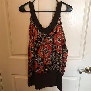 Women sleeveless blouse size 1X